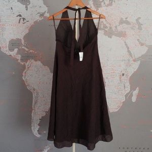 J. Crew Dresses - NWT J Crew Halter Dress Brown Size 10